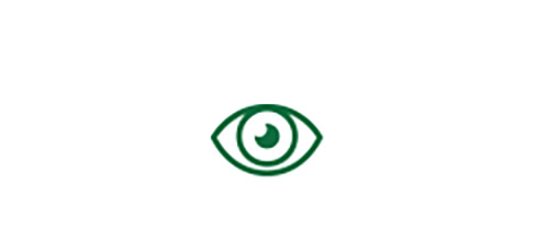 Eye icon indicating high quality distance vision with TECNIS® Symfony Toric IOL